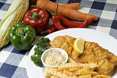 Receta con pescado para diabéticos con sobrepeso :: Receta