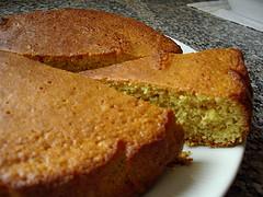 Receta de torta sin harina bizcocho bajas calor as para for Bizcocho para dieta adelgazar