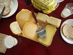 queso y leche