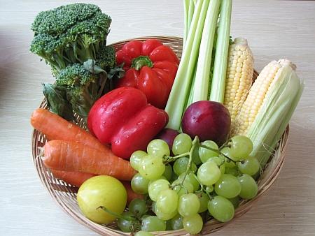 Dieta de frutas y verduras para adelgazar rapido