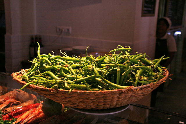 Comida de jud as verdes con salsa de ajo y tomillo de 80 - Calorias de las judias verdes ...