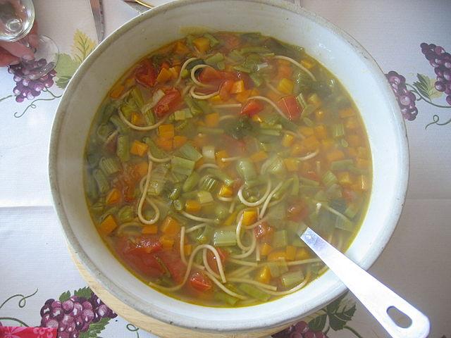 C mo preparar minestra light para una comida r pida - Comida sana y facil para adelgazar ...