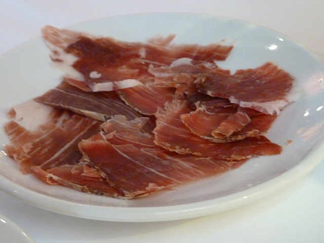 Arrollados de jamón y espinacas light