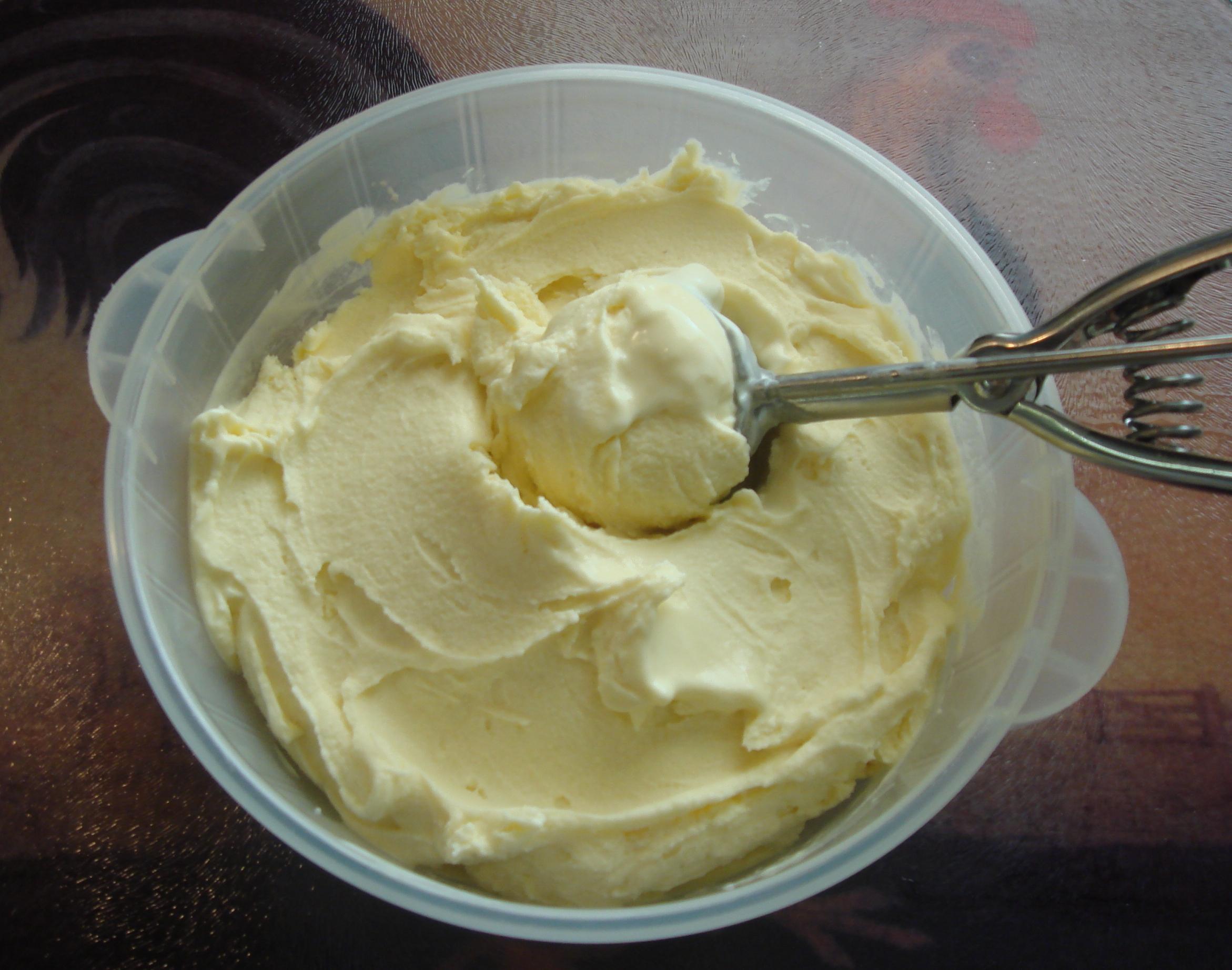 Como preparar helado de vainilla para dieta