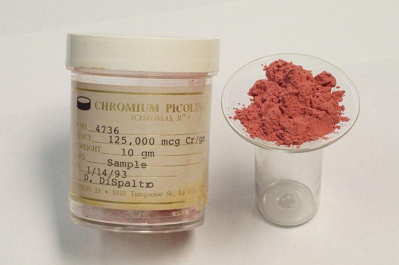 Picolinato de chromium 400 mcg