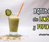 Batido de limón y pepino para perder peso